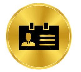 Golden ID Card