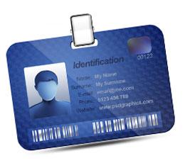 Silver ID Card