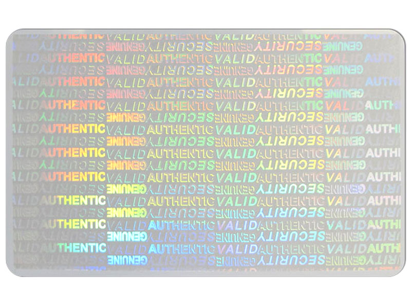 id-card-holographic-sticker